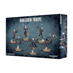 Payasos Eldar Harlequins Arlequines Warhammer 40k Harlequin Troupe