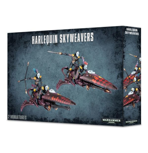 Motos Payasos Eldar Harlequins Arlequines Warhammer 40k Skyweaver