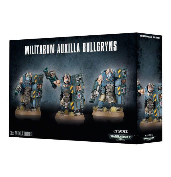 Ogretes Guardia Imperial Astra Militarum Warhammer 40k Ogryns Bullgryns Norkk