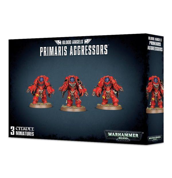 Primarines Angeles Sangrientos Space Marines Espaciales Warhammer 40k Primaris Blood Angels Aggressors