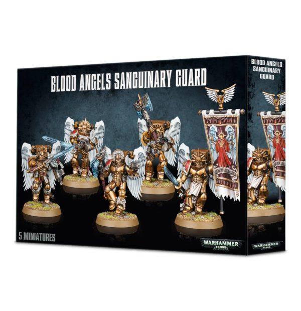 Dantes Guardia Sanguinaria Angeles Sangrientos Space Marines Espaciales Warhammer 40k Sanguinary Guard
