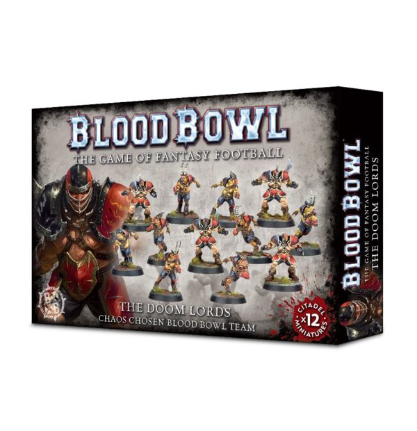 Doom Lords Equipo Caos Blood Bowl Chaos Team
