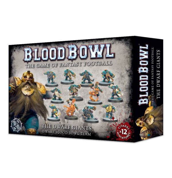 Equipo Enano Blood Bowl Dwarf Giants