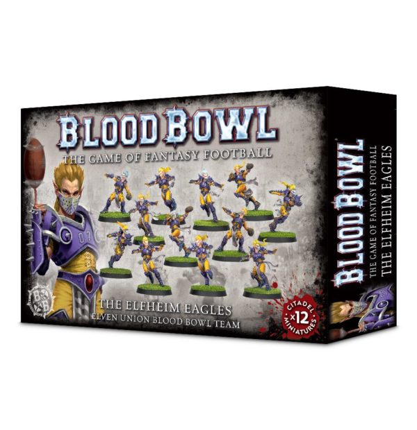 Equipo Elfo Blood Bowl Elf Team