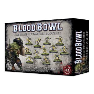 Scarcrag Snivellers Equipo Blood Bowl Goblin Team