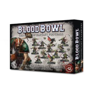 Ratas Skavenblight Scramblers Equipo Blood Bowl Skaven Team