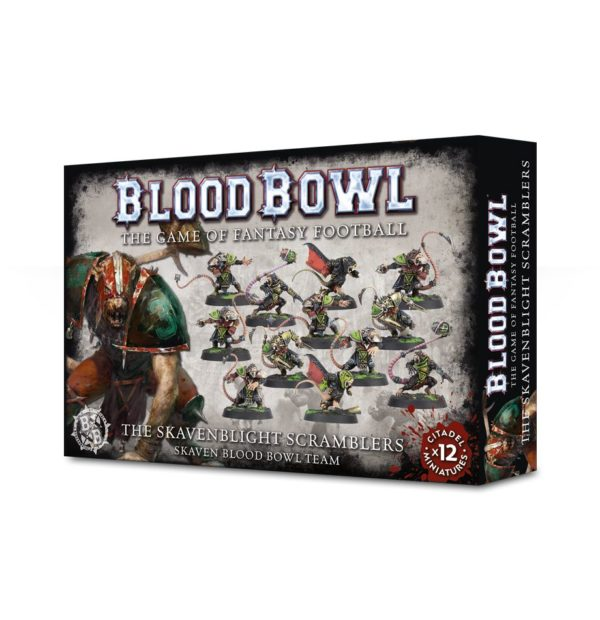 Ratas Skavenblight Scramblers Equipo Blood Bowl Skaven Team