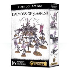 Warhammer 40k Sigmar Caos Start Collecting Slaanesh