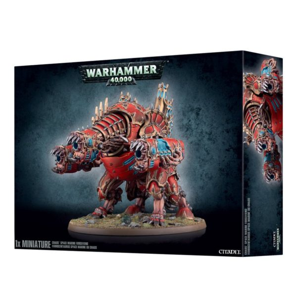 Diablo Forja Despedazador Chaos Space Marines Espaciales Caos Warhammer 40k Forgefiend Maulerfiend