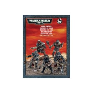 Cultistas Chaos Cultists Space Marines Espaciales Caos Warhammer 40k