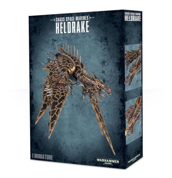 Dragon Infernal Chaos Space Marines Espaciales Caos Warhammer 40k Heldrake