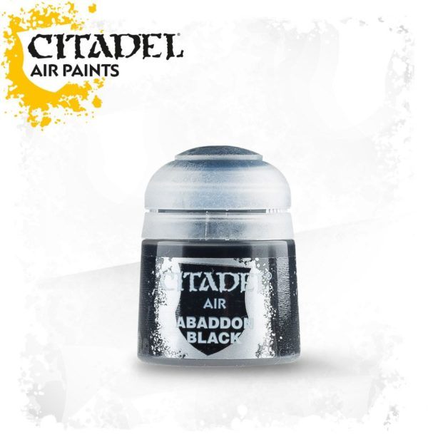 Pintura Negro Citadel Air Abaddon Black