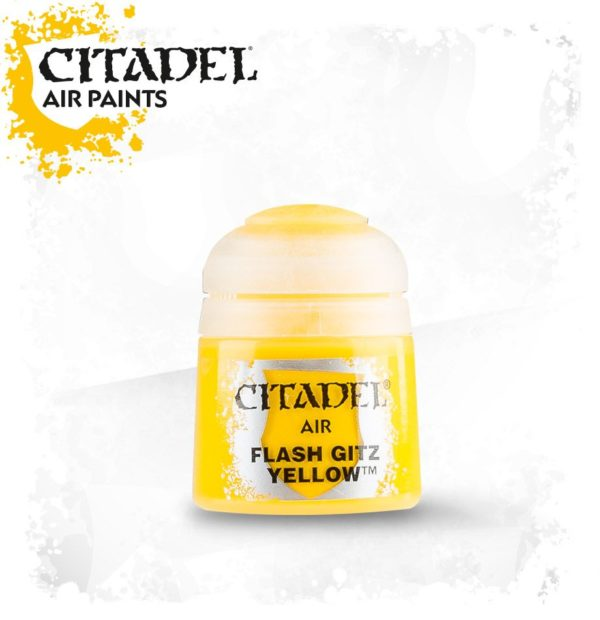 Pintura Amarillo Citadel Air Flash Gitz Yellow