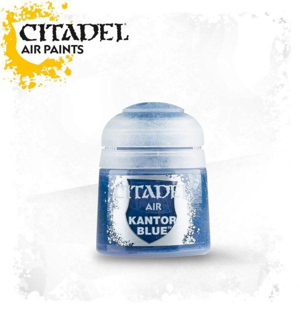 Pintura Azul OScuro Citadel Air Kantor Blue
