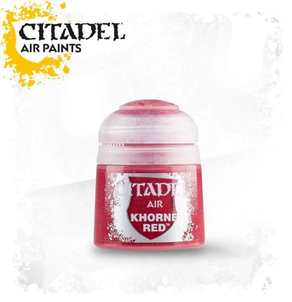 Pintura Rojo Oscuro Citadel Air Khorne Red