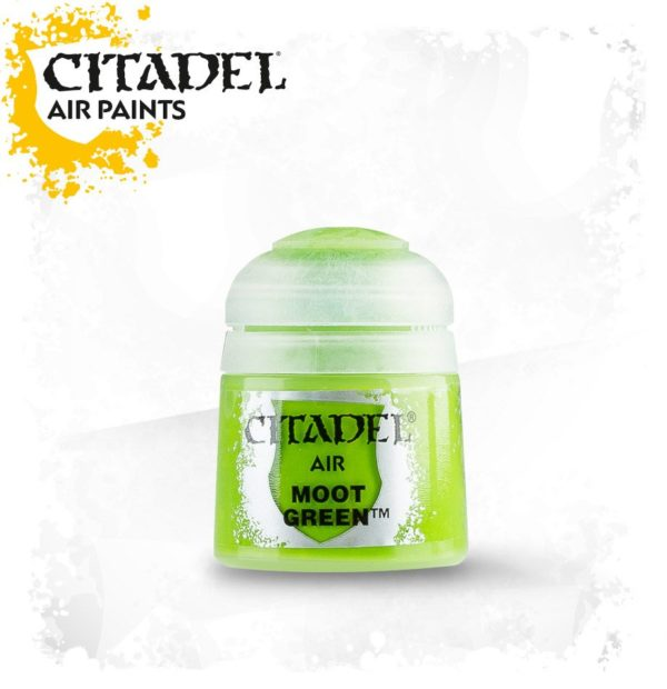 Pintura Verde Citadel Air Moot Green