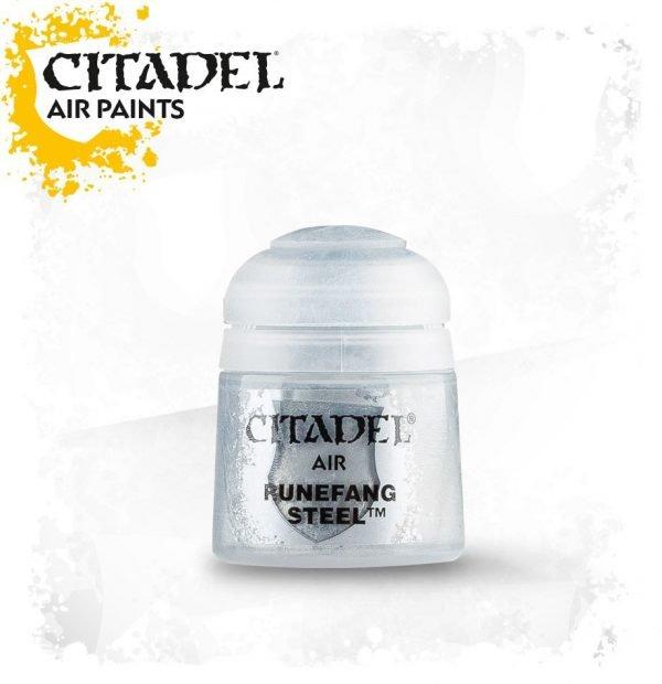 Pintura Plata Citadel Air Runefang Steel