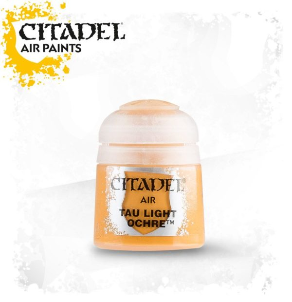 Pintura Naranja Citadel Air Tau Light Ocre