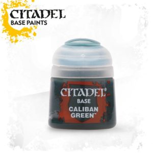 Pintura Verde Oscuro Citadel Base Caliban Green
