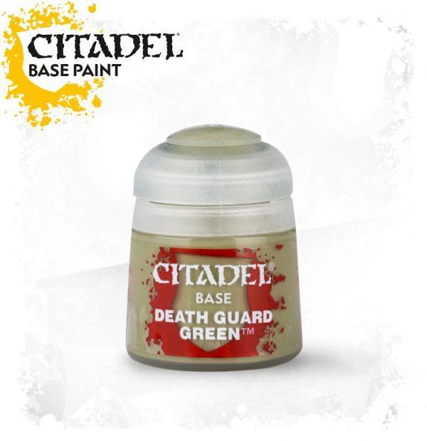 Pintura Verde Citadel Base Death Guard Green