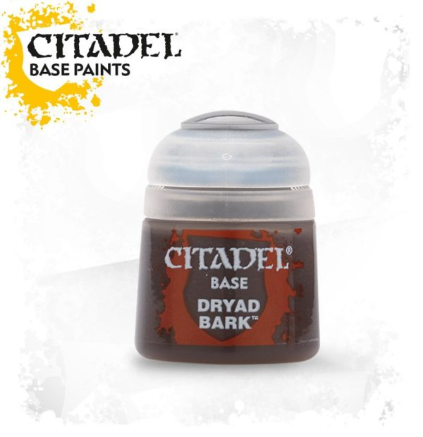 Pintura Marron Oscuro Citadel Base Dryad Bark
