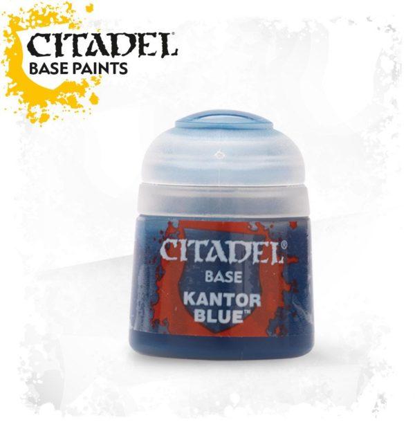 Pintura Azul OscuroCitadel Base Kantor Blue
