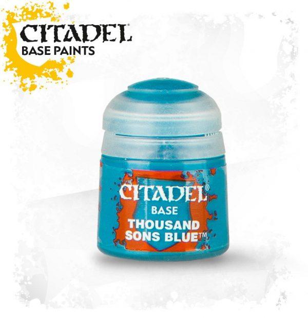 Pintura Turquesa Citadel Base Thousand Sons Blue
