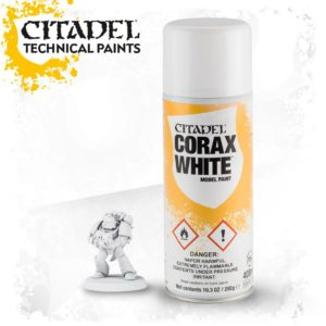 Pintura Imprimacion Blanca Citadel Corax White Spray