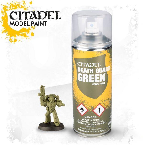 Pintura Imprimacion Verde Claro Citadel Death Guard Green Spray