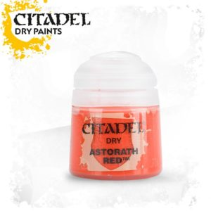 Pintura Pincel Seco Rojo Citadel Dry Astorath Red