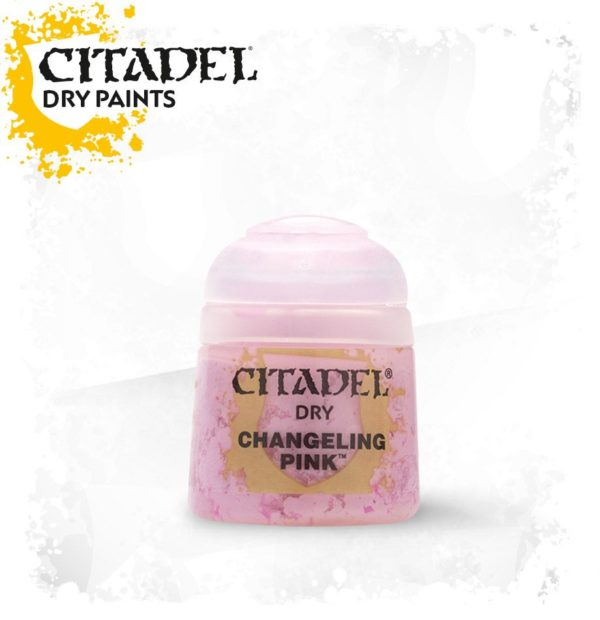 Pintura Pincel Seco Rosa Citadel Dry Changeling Pink