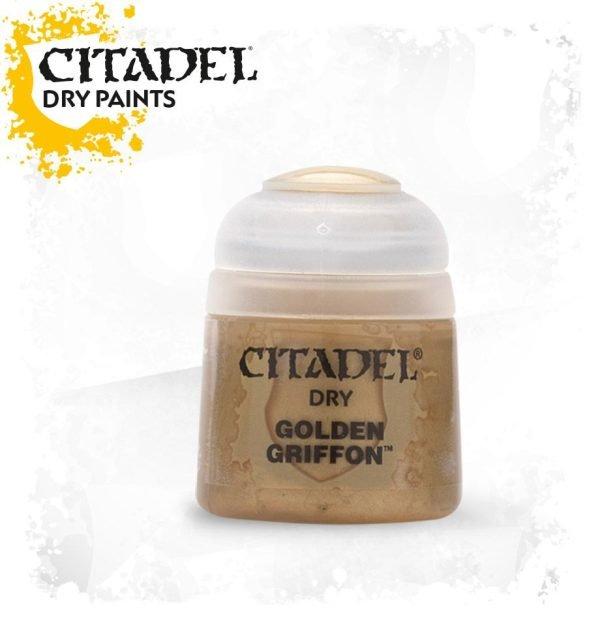 Pintura Pincel Seco Oro Citadel Dry Golden Griffon