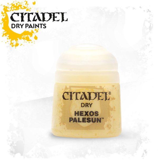 Pintura Pincel Seco Amarillo Citadel Dry Hexos Palesun