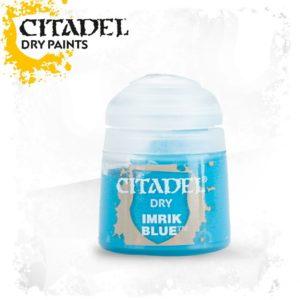 Pintura Pincel Seco Turquesa Citadel Dry Imrik Blue