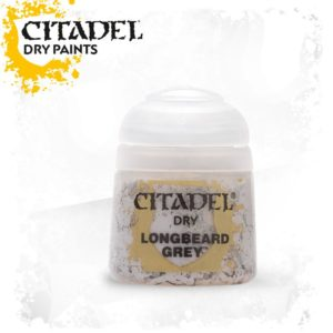 Pintura Pincel Seco Gris Citadel Dry Longbeard Grey