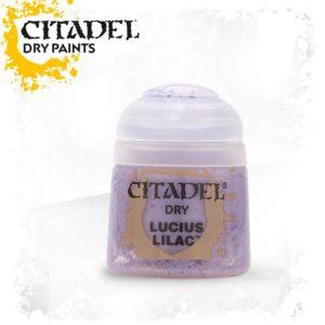 Pintura Pincel Seco Violeta Citadel Dry Lucius Lilac