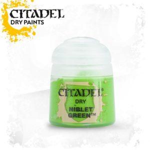 Pintura Pincel Seco Verde Citadel Dry Niblet Green