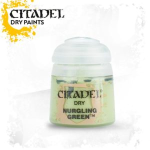 Pintura Pincel Seco Verde Citadel Dry Nurgling Green