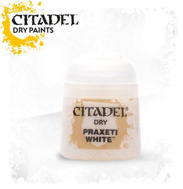 Pintura Pincel Seco Rosa Citadel Dry Praxeti White