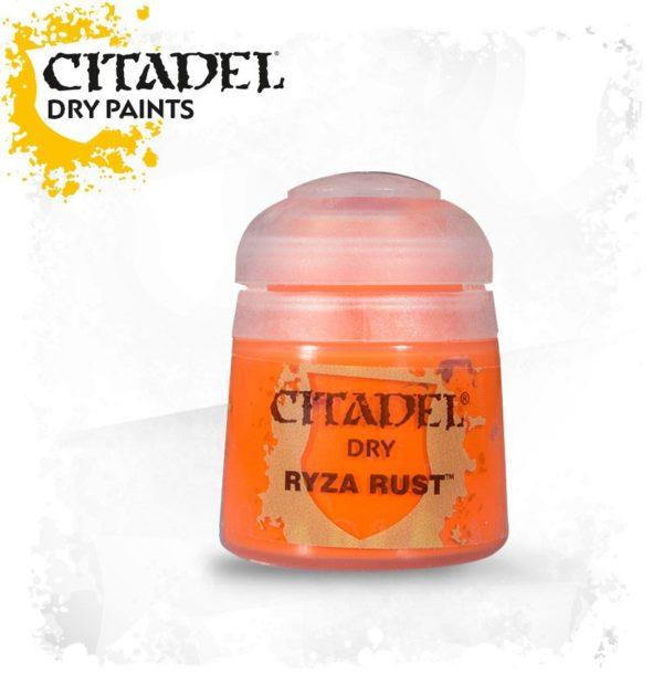 Pintura Pincel Seco Naranja Citadel Dry Ryza Rust