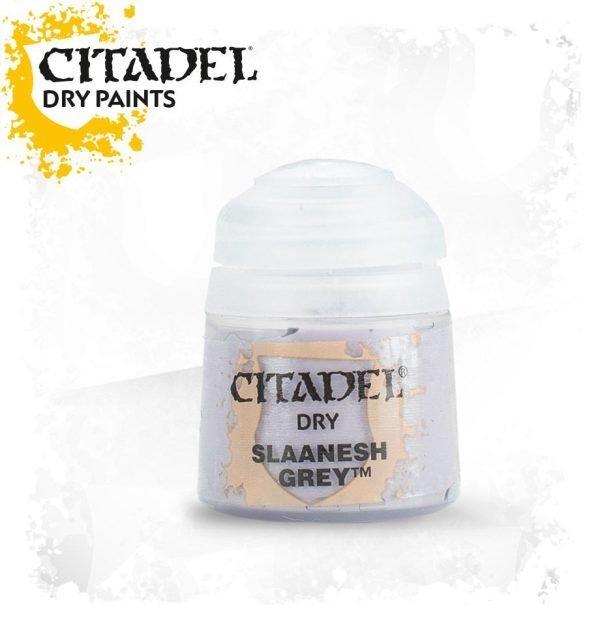 Pintura Pincel Seco Gris Citadel Dry Slaanesh Grey