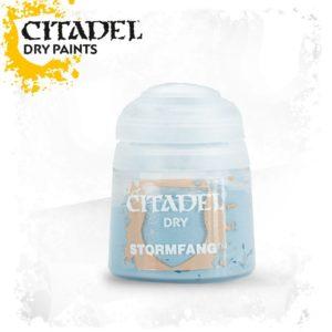 Pintura Pincel Seco Azul Citadel Dry Stormfang