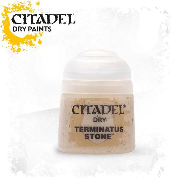 Pintura Pincel Seco Marron Citadel Dry Terminatus Stone