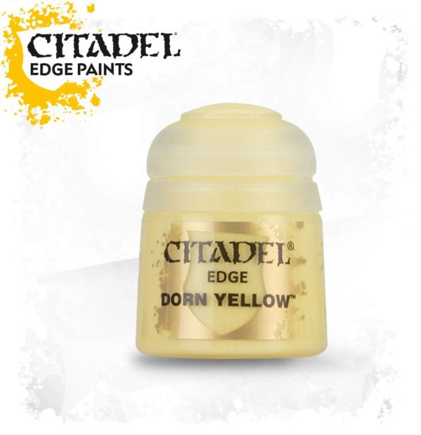 Pintura Pincel Seco Amarillo Citadel Edge Dorn Yellow