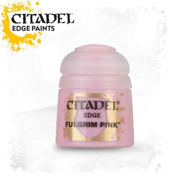 Pintura Pincel Seco Rosa Citadel Edge Fulgrim Pink