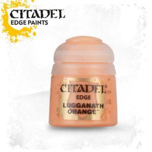 Pintura Pincel Seco Naranja Citadel Edge Lugganath Orange