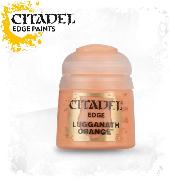 Pintura Pincel Seco Naranja Citadel Edge Lugganath Orange