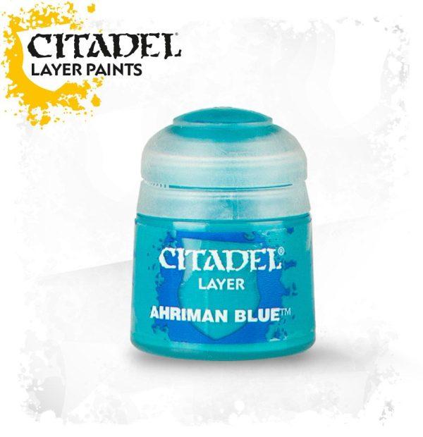 Pintura Citadel Layer Ahriman Blue