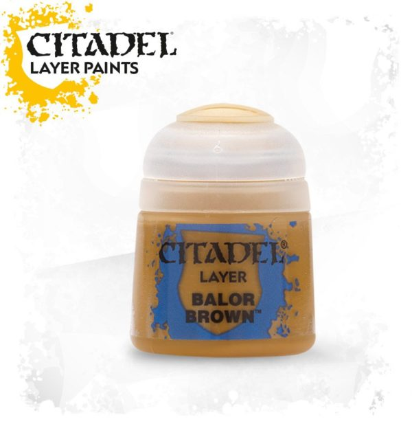 Pintura Citadel Layer Balor Brown