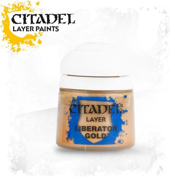 Pintura Citadel Layer Liberator Gold
